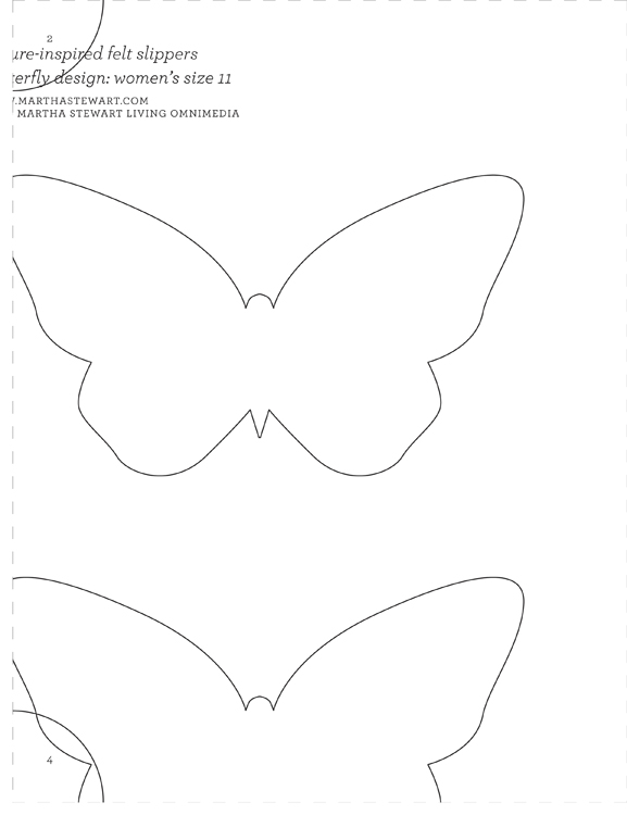 Extended ebook content for martha stewart 39 s encyclopedia for Martha stewart butterfly template