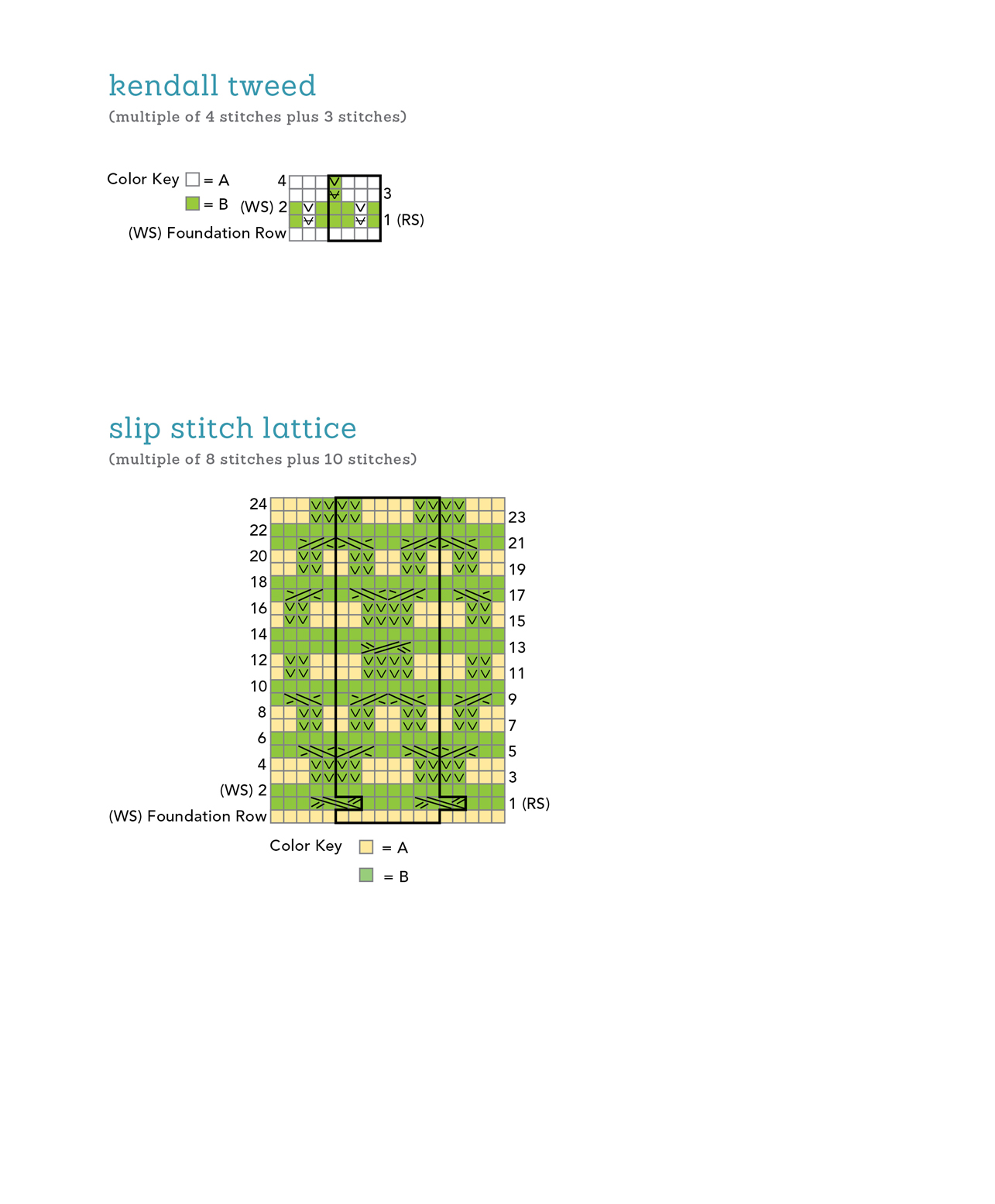 The Knit Stitch Pattern Handbook By Melissa Leapman : Extended ebook content for The Knit Stitch Pattern Handbook: 4 - Slip Stitch ...
