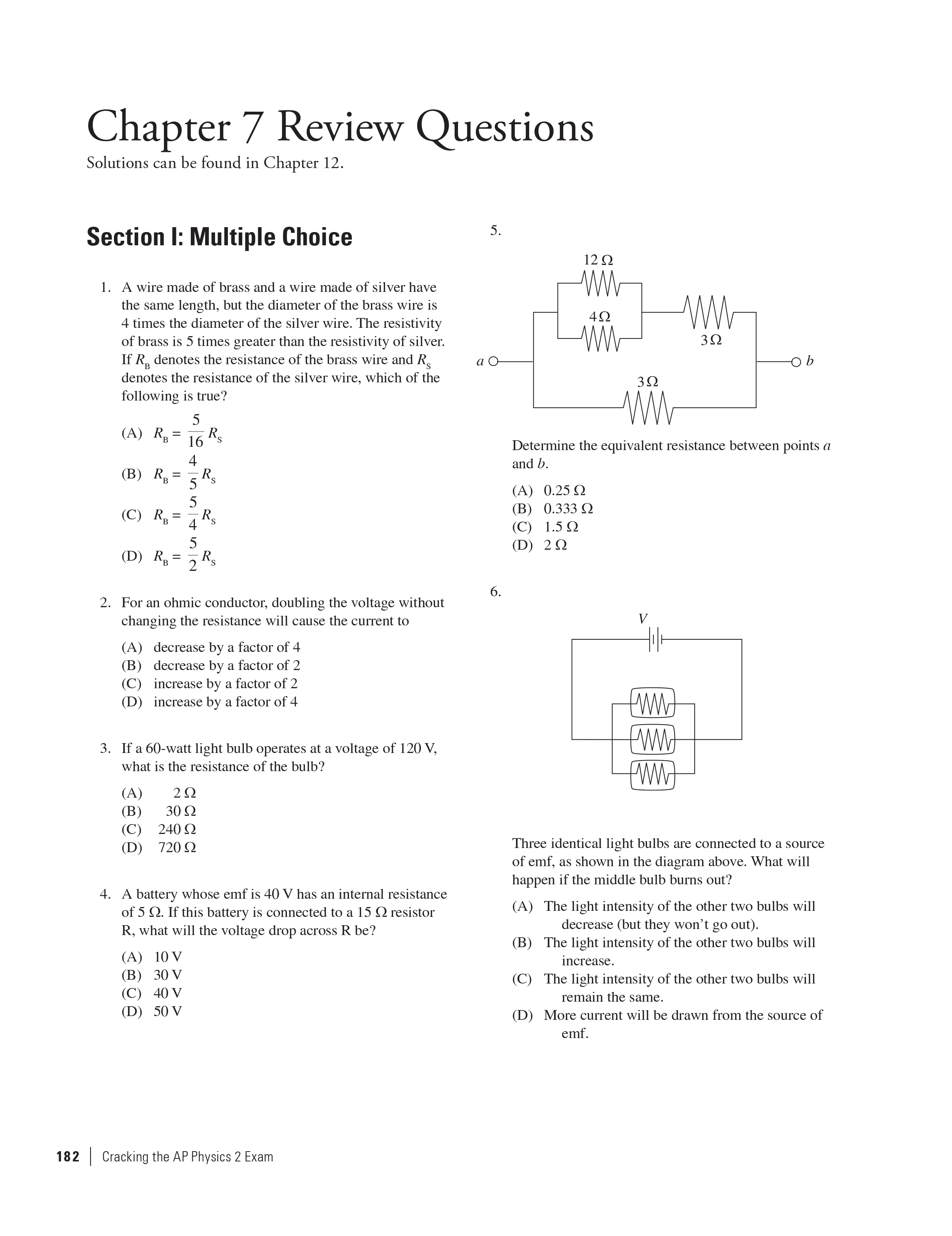 Extended ebook content for Cracking the AP Physics 2 Exam, 2018